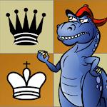 Learn Chess: Dinosaur Chess! Icon
