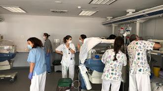 Torrecárdenas ha trasladado la UCI de Pediatría al Hospital Materno Infantil.