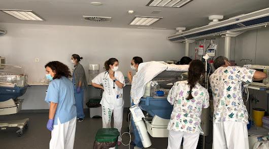 El coronavirus adelanta el traslado de la UCI de Pediatría al Materno Infantil