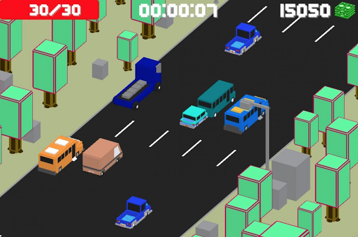 Blocky highway racing 0.88 screenshots 1