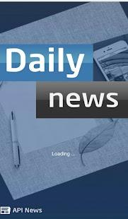 Daily News - náhled