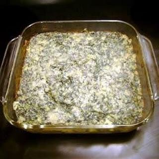 Savory Spinach Casserole.