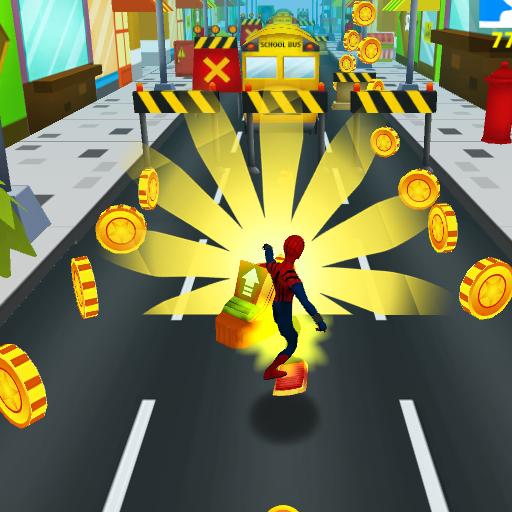 Subway Spider Avenger: Spider Hero, Spiderman Game
