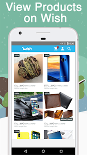 Shopping Browser For Wish: shopping made fun!