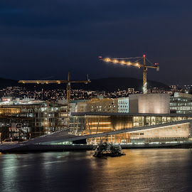 Oslo by Dirk Rosin - City,  Street & Park  Skylines