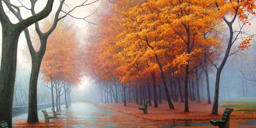 秋日紅葉主題-獵豹桌面