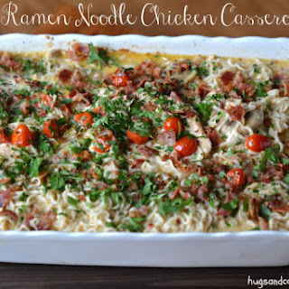 Ramen Noodle Chicken Casserole