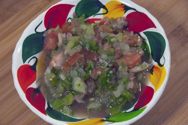 Pico De Gallo With A Twist Recipe