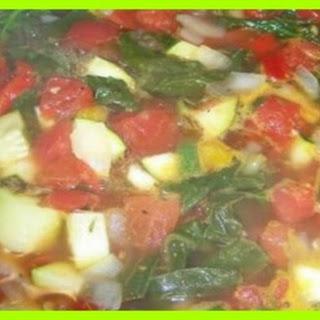 Zero Points Vegetable Soup.