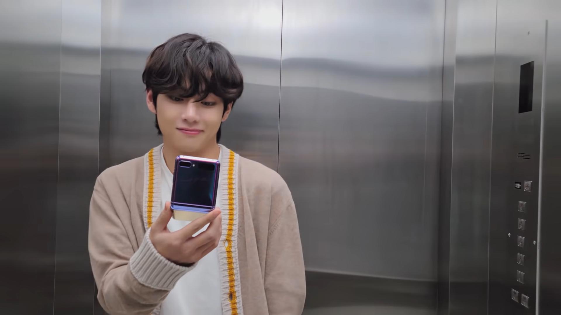 Galaxy X BTS_ V and Galaxy Z Flip l Samsung 0-7 screenshot