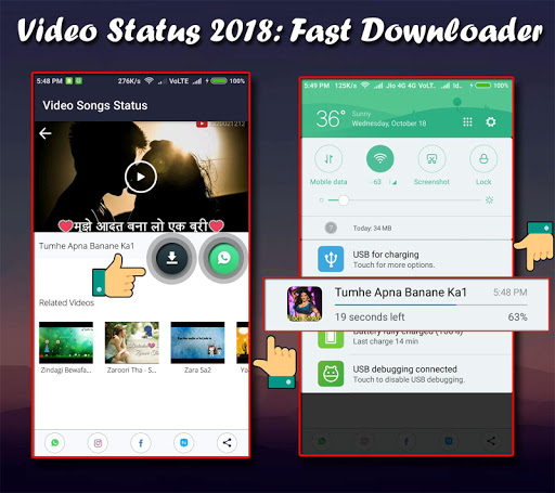 Video status 2018: Whatsaap | Whatsap 1.7 screenshots 6
