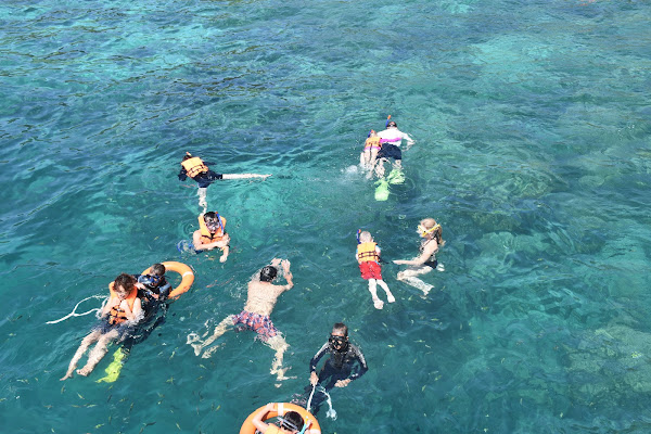 Snorkel fun for the whole family