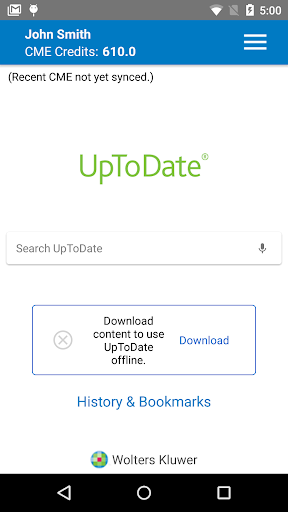 UpToDate for Android 3.14.1-6 screenshots n 2