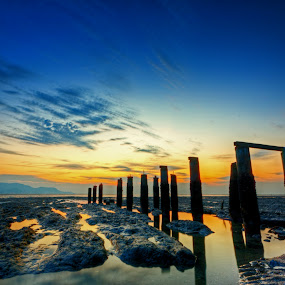 Soothing by Härris McHörrör - Landscapes Sunsets & Sunrises ( robbie, sunset, robina, sundown, penang )