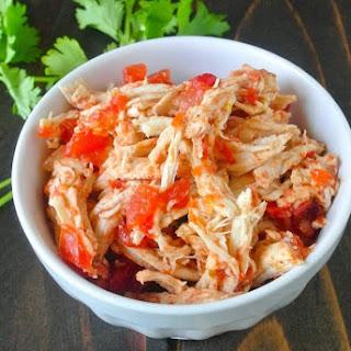 Crockpot Mexican Shredded Chicken Recipe