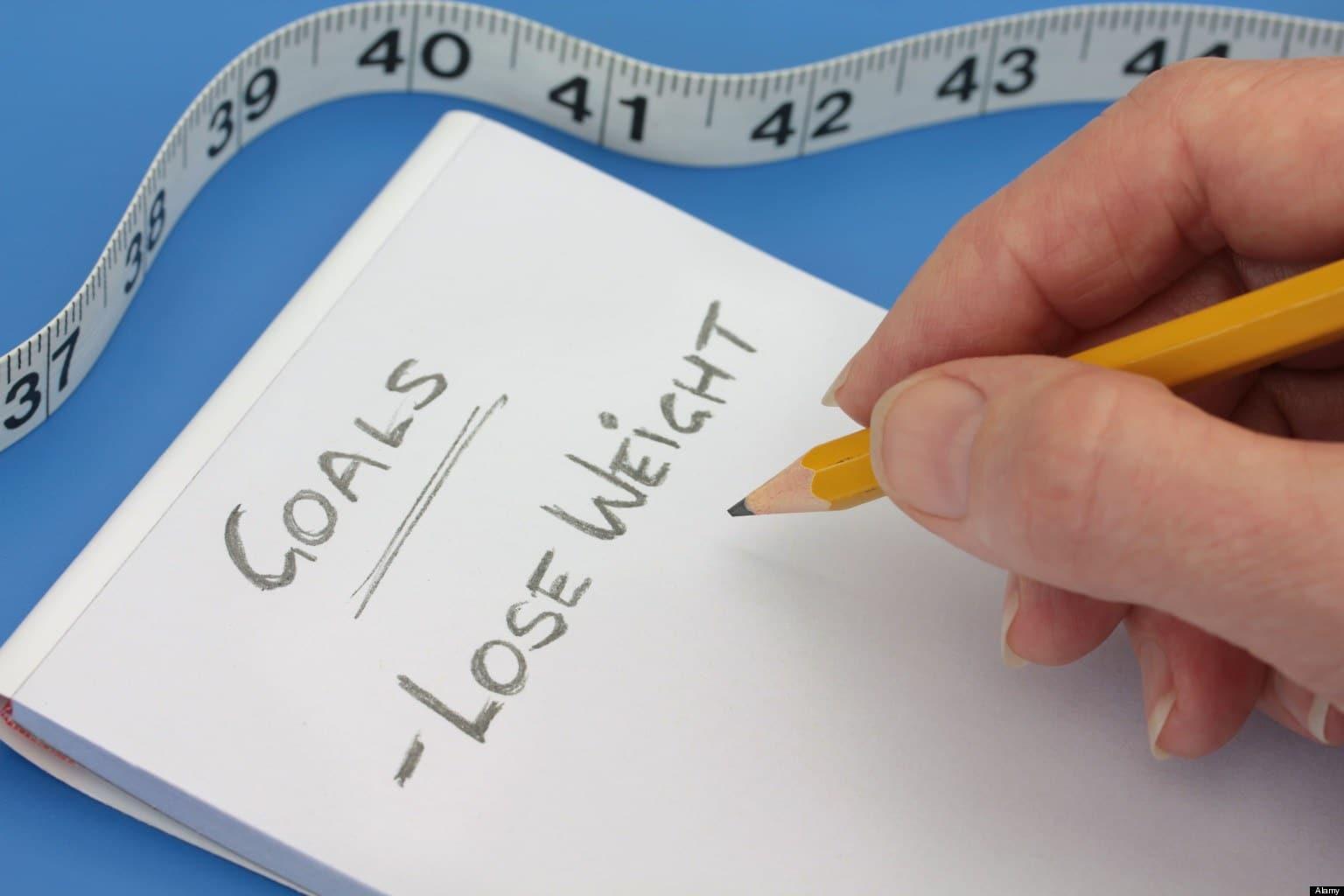 dieting mini goals