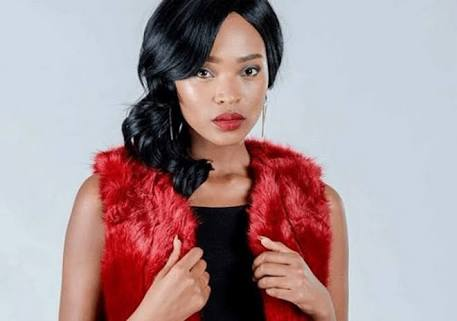 Actress Motsoaledi Setumo plays the role of Mmabatho on 'The Queen'.