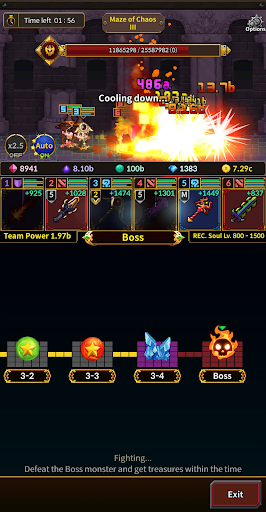 Weapon Heroes : Infinity Forge(Idle RPG) 0.9.041 screenshots 15