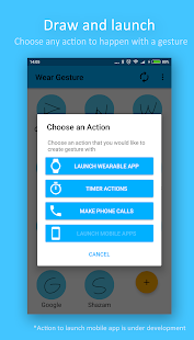 Wear Gesture Launcher - Android Wear launcher - náhled