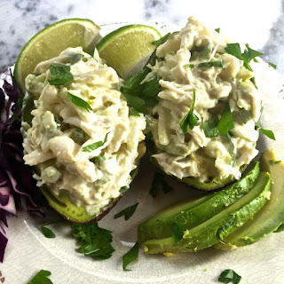 Avocado Stuffed with Blue Crab