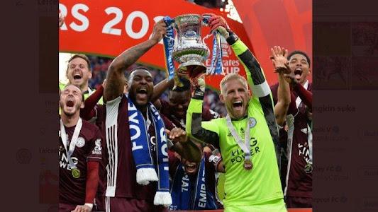 Leicester City Cetak Sejarah Juara Piala FA 2021 Usai Kalahkan Chelsea 1-0, Ini Daftar Para Juara - Warta Kota