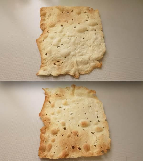 (no-knead) Unleavened Bread, (cracker Version)