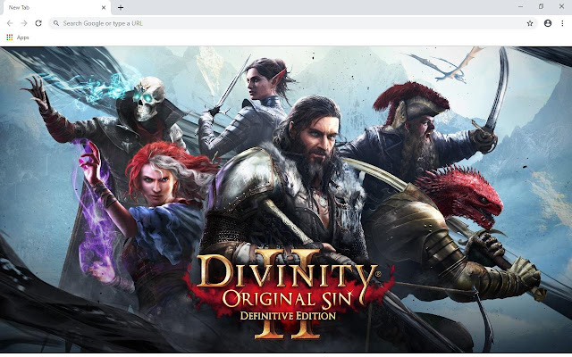 Divinity 2 Wallpapers and New Tab