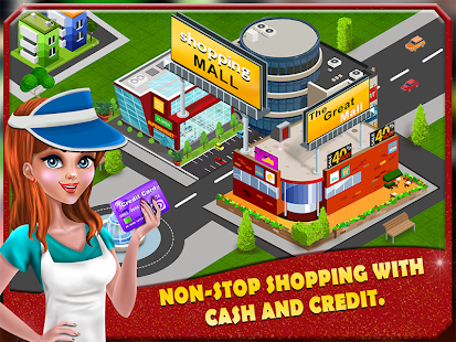 Game Shopping Mall Cashier Girl - Cash Register Games APK for Windows Phone