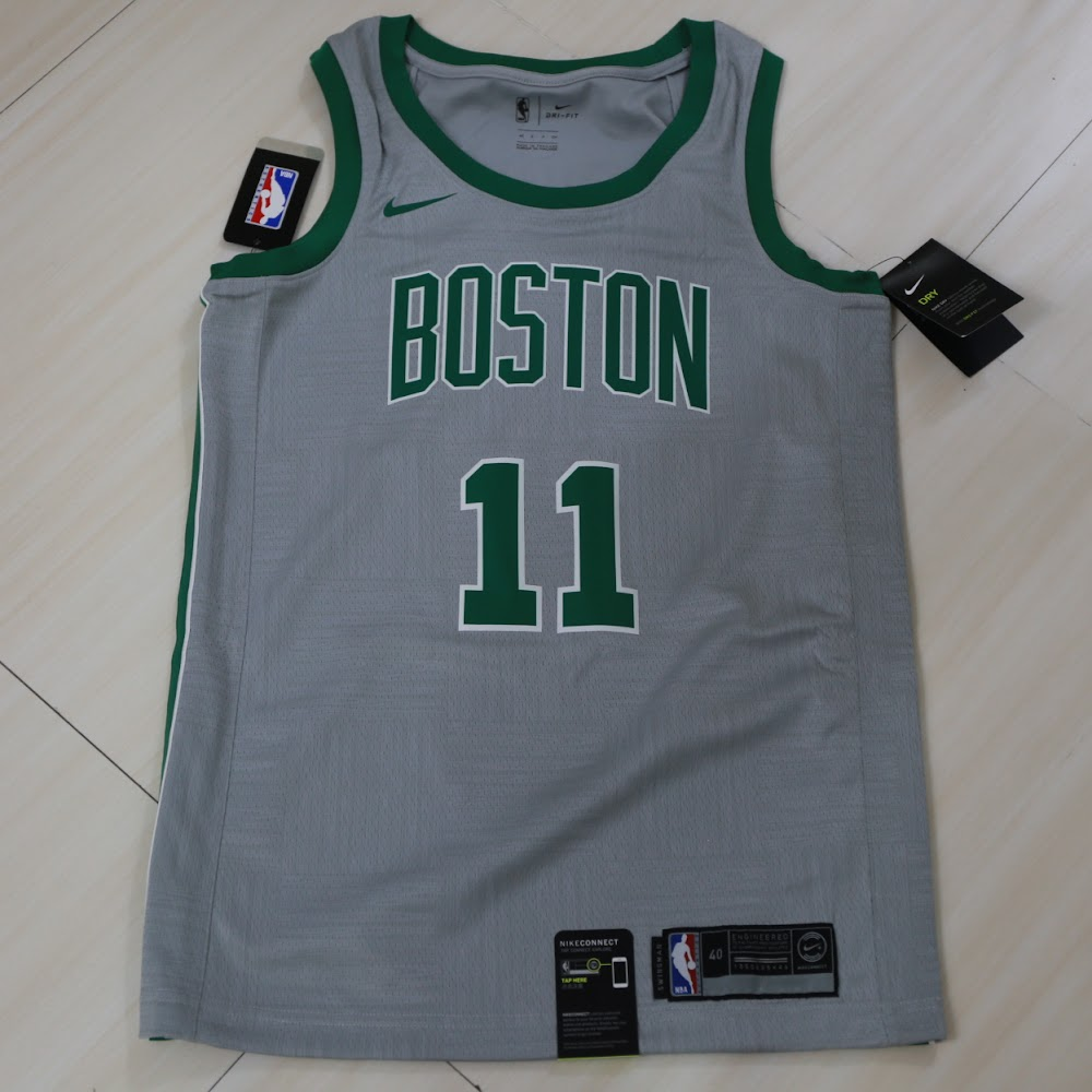 NBA Nike Boston Celtics Kyrie Irving City Swingman Jersey 塞爾特人城市艾榮球衣 46bd46f48