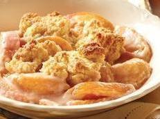 Creamy Peach Cobbler Recipe