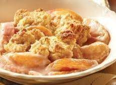 Creamy Peach Cobbler Recipe