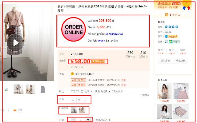orderhangtaobao.com - Công cụ đặt hàng taobao