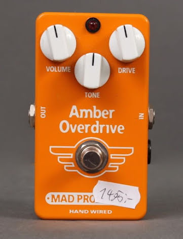 Mad Professor Amber Overdrive Hand Wired USED. Very good condition.