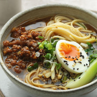 Jamie Oliver'S Spicy Miso Pork Ramen Recipe