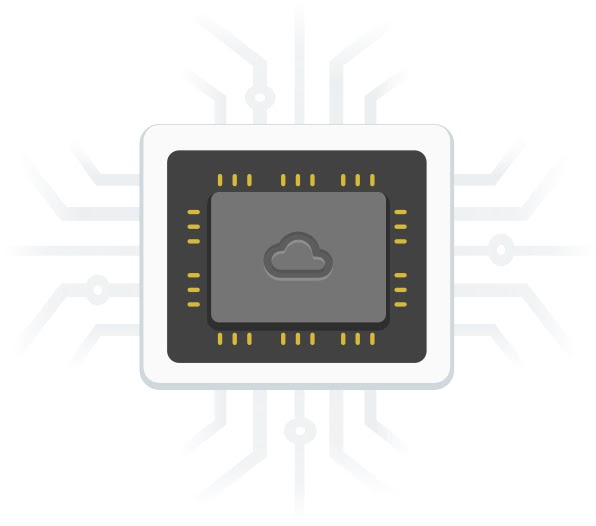 Logotipo de Información general de GPUs de Cloud