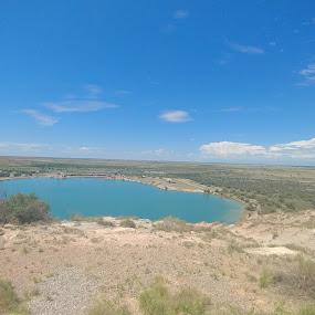 Desert oasis by Laura Walden - Landscapes Deserts ( aqua, beautiful, vacation, travel, lake,  )