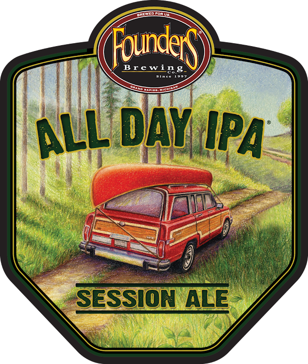 Logo of Founders All Day IPA