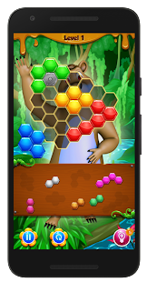 Beehive Bear: Honeycomb Hex Puzzle- screenshot thumbnail