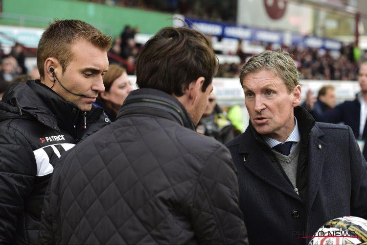 """Dury ontgoocheld in zijn spelers: """"Anderlecht stond voor zonder dat ze er zelf iets voor moesten doen"""""""