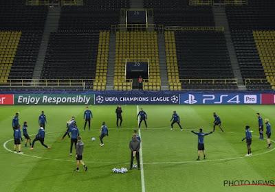 ? Bekijk hier de laatste training van Club Brugge voor de clash tegen Dortmund