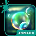 Splashing Bubble Keyboard icon