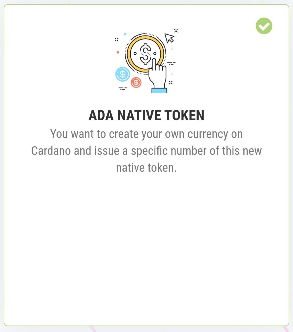 Blog ADA Token Native Tokens