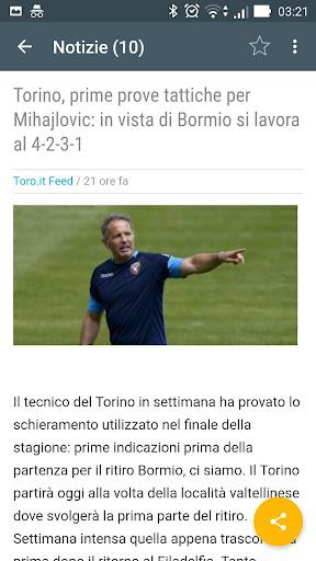 Toro Torino Notizie 1.0 screenshots 2