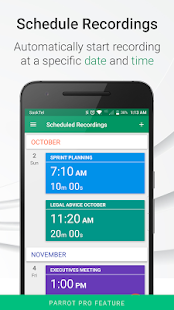 Parrot - Voice Recorder Screenshot