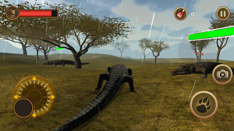 Скриншот Crocodile Chase Simulator