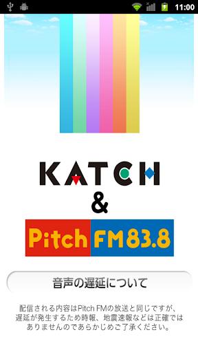 KATCH&Pitch 地域情報 of using FM++