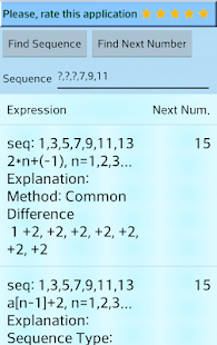 Number Series Calculator- screenshot thumbnail