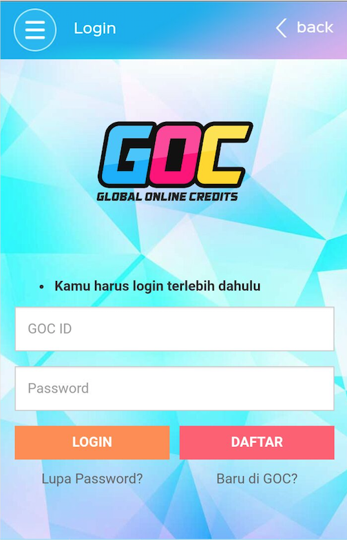 GOC Mobile- screenshot