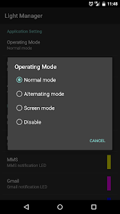 Light Manager - LED Settings- screenshot thumbnail
