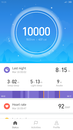 Mi Fit 3.5.9 screenshots 1